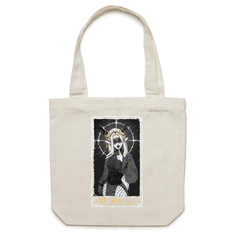 "HollowMage - ""The Hollow Mage"" - Canvas Tote Bag"
