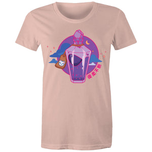 "Townie - ""Health Potion - Front Only"" - Women's Premium Short-sleeve"