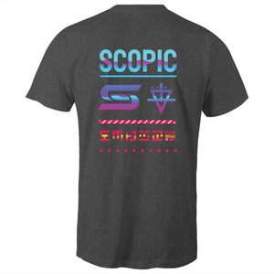 "Scopic - ""Colour Pocket Glitch"" - Premium Men's Short-sleeve"
