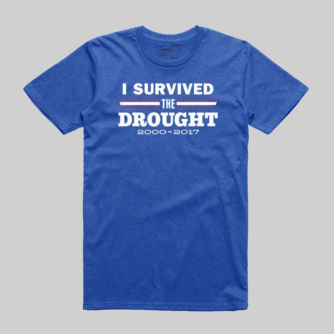 I Survived the Drought - Blue (Clearance)