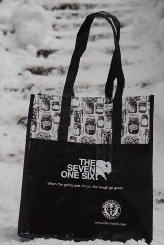 The Seven One Six - Reusable Tote Bag