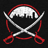 City Swords (Black) - Tees