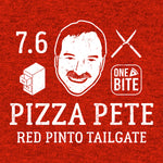 Pizza Pete - Red Pinto Tailgate