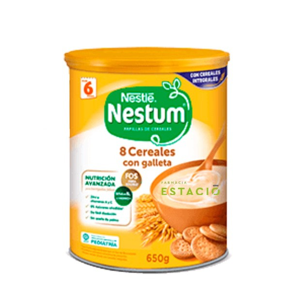NESTLE NESTUM PAPILLA 8 CEREALES CON GALLETA  6