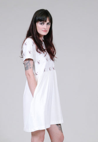 Scrappy -Pomeranian Babydoll Shirt Dress