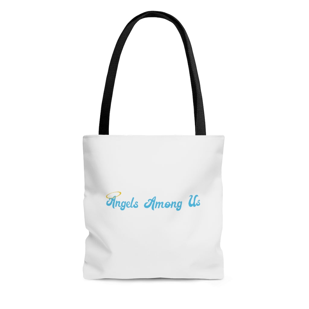Angels Among Us Tote Bag