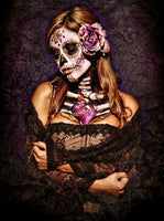 Day of the Dead Lace Muerta