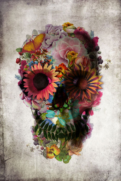 Skull Flower (XL Frame)