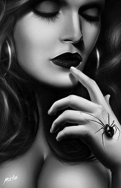Black Widow Hand