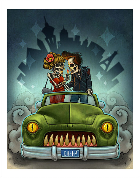 Skeleton Couple Merc