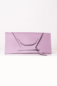 V Slashed Clutch - Colour Options