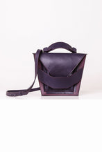 Load image into Gallery viewer, Dark Violet Burgundy Layered Bag