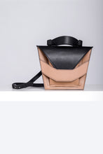 Load image into Gallery viewer, Layered Bag - Caramel Black