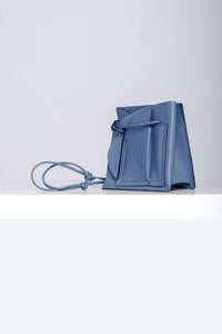 Mini Close Bag -  Muted Egyptian Blue