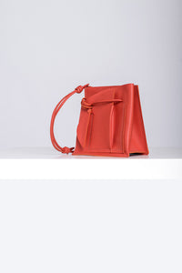 Mini Close Bag -  Burnt Orange