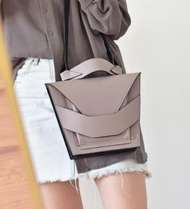 Layered Bag - Light Taupe