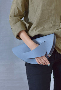 Dune Clutch - Cornflower Blue