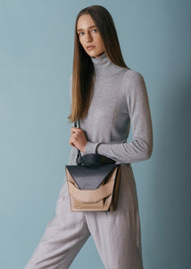 Layered Bag - Caramel Black