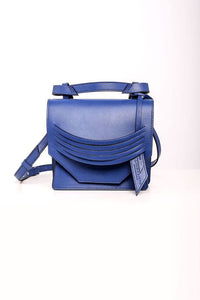 Mini Extreme Slashed Bag - Cobalt Blue