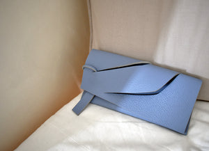 Triangular Slashed Clutch - Size + Colour Options
