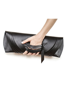 Curved Slashed Clutch