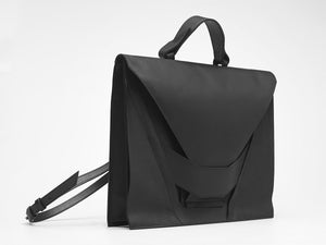 Tar Black Satchel