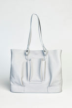 Load image into Gallery viewer, Structural Plisse Shopper - Light Grey