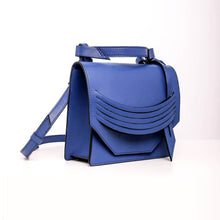 Load image into Gallery viewer, Mini Extreme Slashed Bag - Cobalt Blue