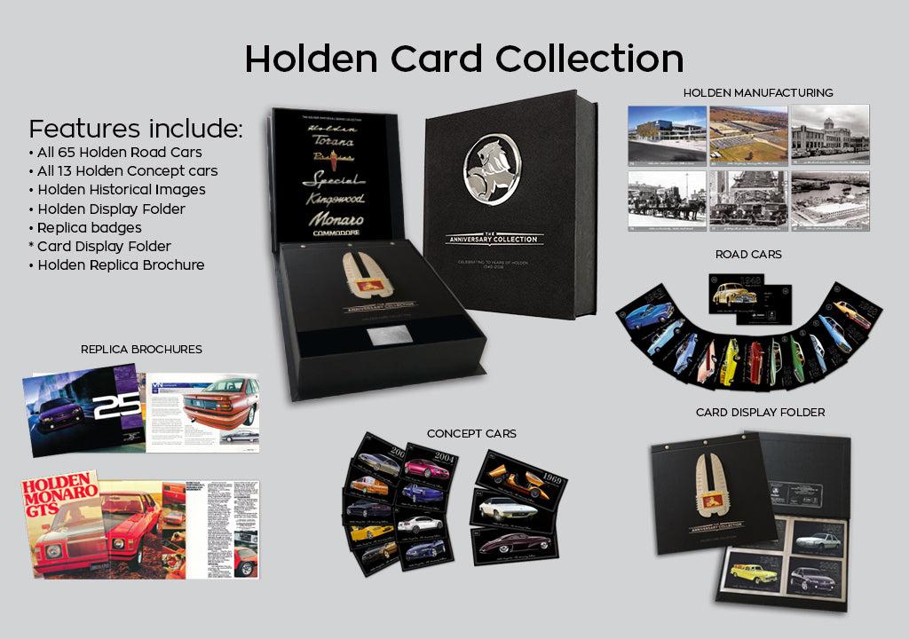 Holden Collector Card Book - sold out