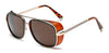 Stylish Iron Man Square Vintage Sunglasses For Men And Women-SunglassesCraft