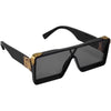 New Celebrity Square Oversize Sunglasses For Men And Women-SunglassesCraft