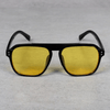 Classic Square Black Yellow Candy Sunglasses For Men And Women-SunglassesCraft