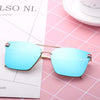 Stylish Hexagone Mirror Sunglasses For Women-SunglassesCraft