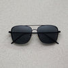Rectangular Square Full Black Sunglasses For Men And Women-SunglassesCraft