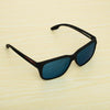 Sports Aqua Blue and Black Sunglasses For Men And Women-SunglassesCraft