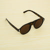 Round Brown And Leopard print Sunglasses For Men And Women-SunglassesCraft