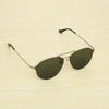 Round Green And Silver SunglassesFor Men And Women-SunglassesCraft