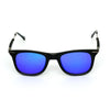 Way Oval Blue And Black Sunglasses For Men And Women-SunglassesCraft