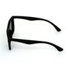 Classy Way Oval Black And Black Sunglasses For Men And Women-SunglassesCraft