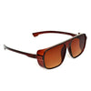 Sports Brown And Brown Sunglasses For Men And Women-SunglassesCraft