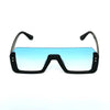 Way Oval Shaded Blue And Black Sunglasses For Men And Women-SunglassesCraft