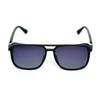 Rectangle Shaded Maroon And Black Sunglasses For Men And Women-SunglassesCraft