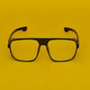 Rectangle Yellow And Black Sunglasses For Men And Women-SunglassesCraft