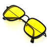 KB Yellow And Black Premium Edition Sunglasses For Men And Women-SunglassesCraft