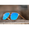 New Stylish Designed Blue unisex sunglasses For Men And Women-SunglassesCraft