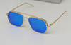 Varun Dhawan Stylish Square Metal Frame Sunglasses For Men And Women-SunglassesCraft