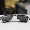 Stylish Square Full Black Retro Sunglasses For Men And Women-SunglassesCraft