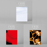 Simple Basic Orange Lettering Shirt