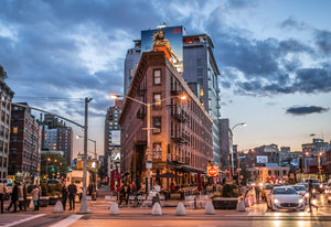 Meatpacking District early evening