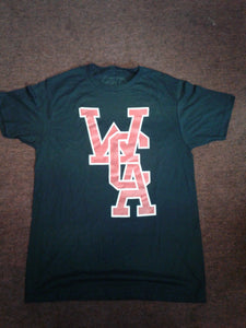 WCA MONOGRAM LOGO TEE BLACK ADULT